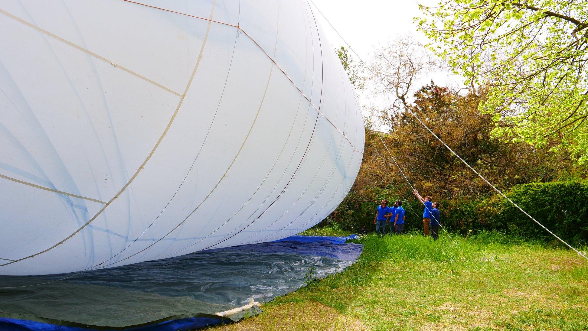 Zephalto, prototype de ballon spatial