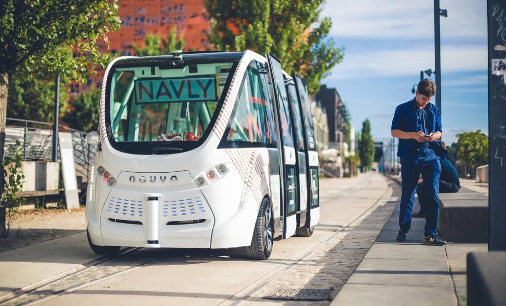 Bluebus et Navya veulent mettre en route des bus autonomes
