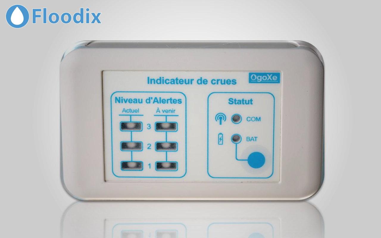Floodix, indicateur de crue