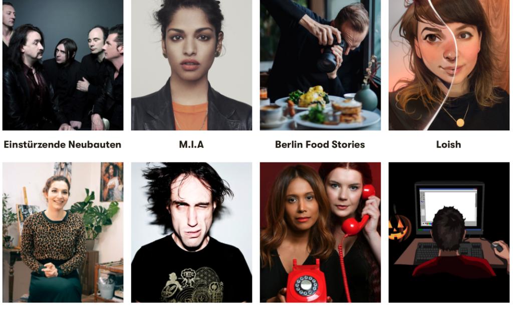 Nouvelle plateforme de sociofinancement pour les artistes français