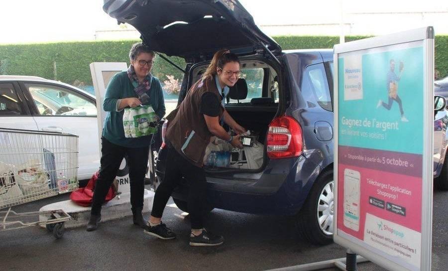 Shopopop, la solution collaborative de livraison de courses