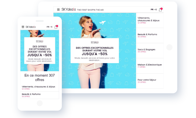 Shopping en avion : SKYdeals s'associe à Lufthansa et Austrian Airlines