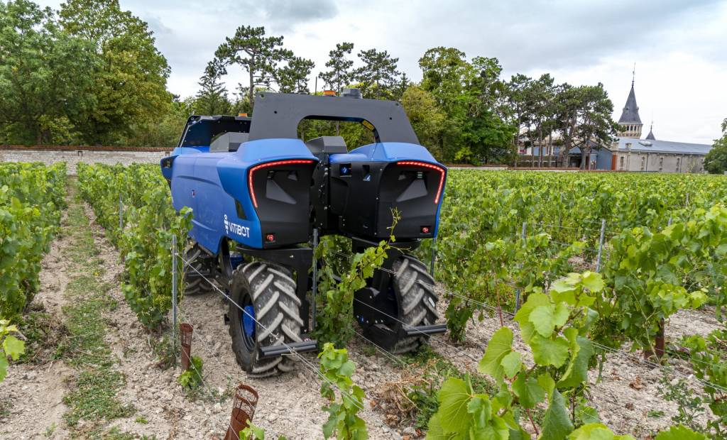 11 millions récoltés pour le robot viticole de VitiBot