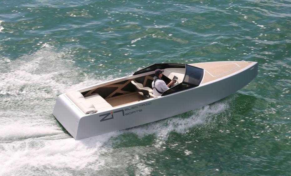 Le Z2R, bateau électrique