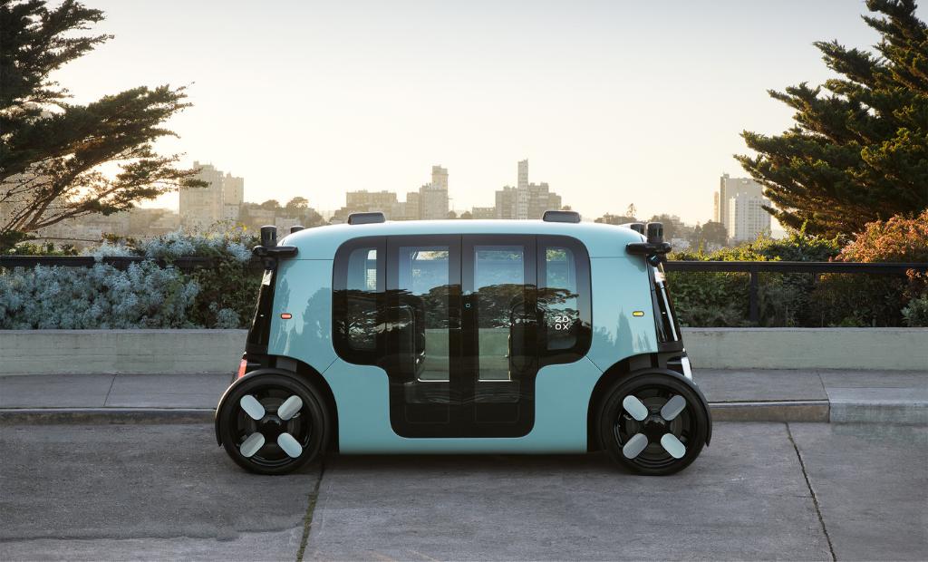 Zoox, rachetée par Amazon, lance sa voiture électrique autonome