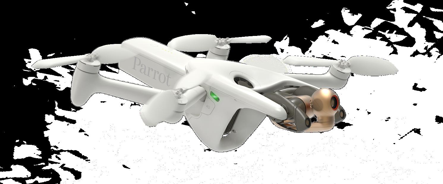 L'Anafi AI, le nouveau drone autonome de Parrot