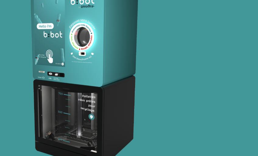 b:bot, un nouveau système de recyclage des bouteilles accessible à tous