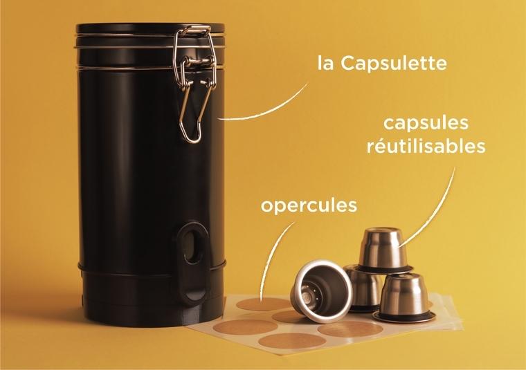capsule à café réutilisable : Capsulette de CapsMe