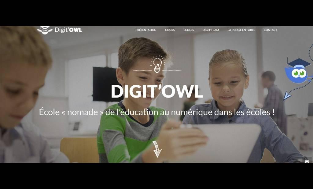 Former son enfant au digital sans l'exposer aux écrans, le pari de la start-up Digit'Owl