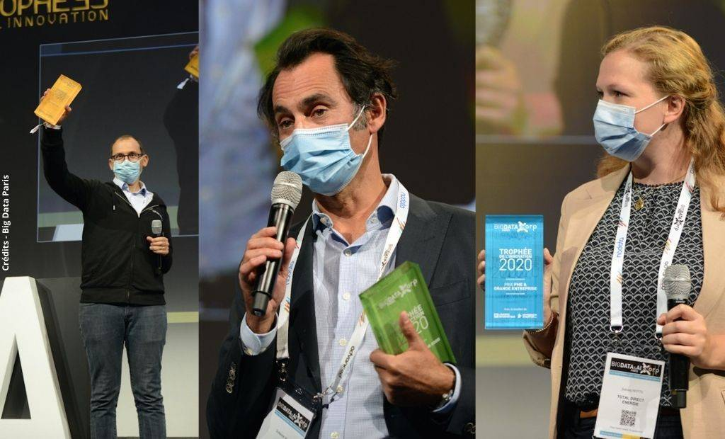 On connait les gagnants du Big Data Paris 2020