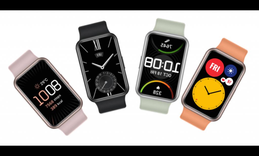 La Watch Fit de Huawei vient concurrencer l'Apple Watch