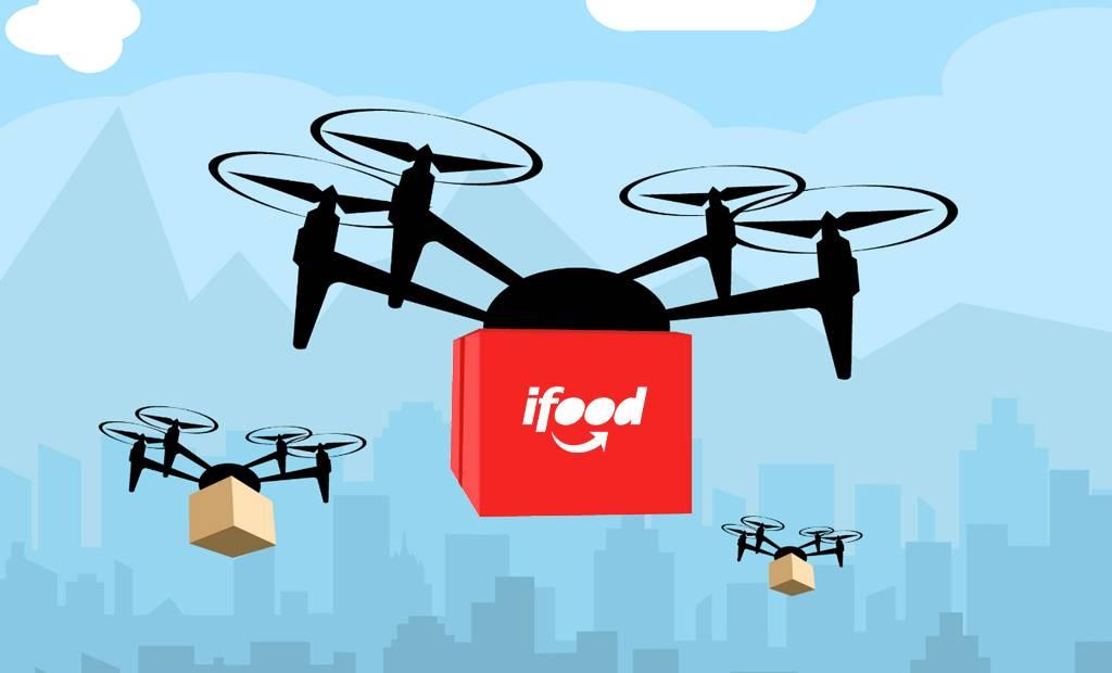 iFood, la livraison de nourriture par drone