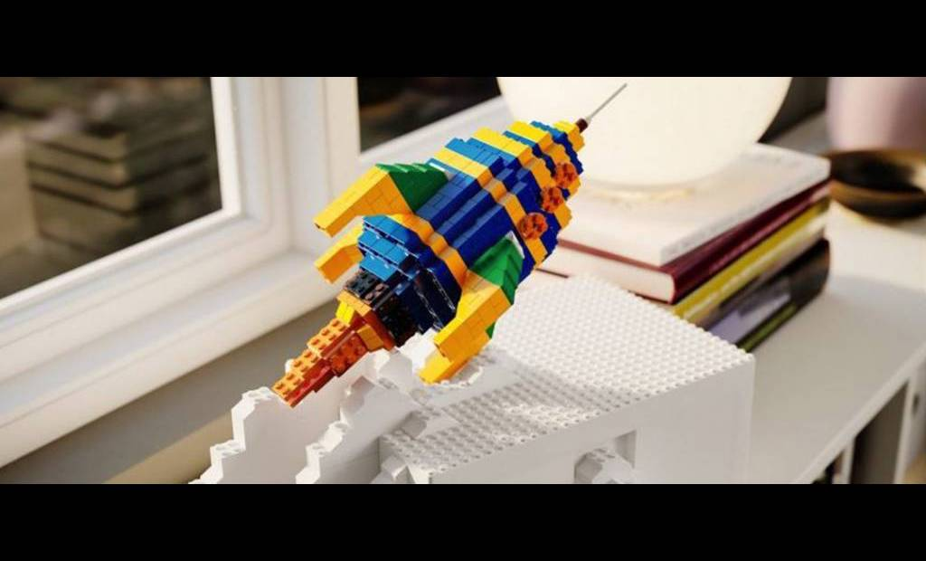 La boîte de rangement BYGGLEK par LEGO et Ikea