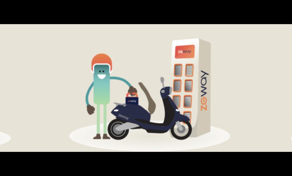 ZEWAY, la nouvelle solution de scooters électriques s'associe au Monoprix