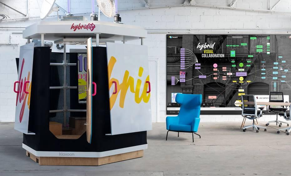 Klaxoon lance Hybridity, la nouvelle salle de réunion mobile