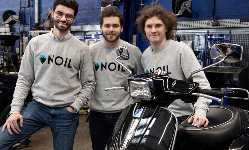 Noil, la start-up qui permet de transformer son scooter thermique en électrique