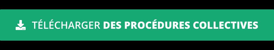Télécharger des procédures collectives