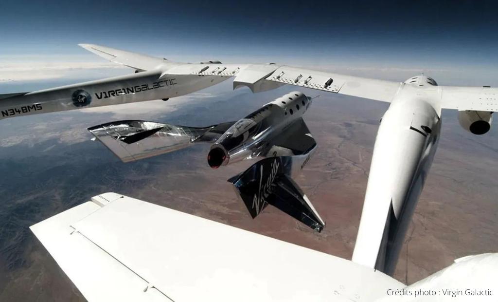 Virgin Galactic : un premier vol réussi pour Richard Branson