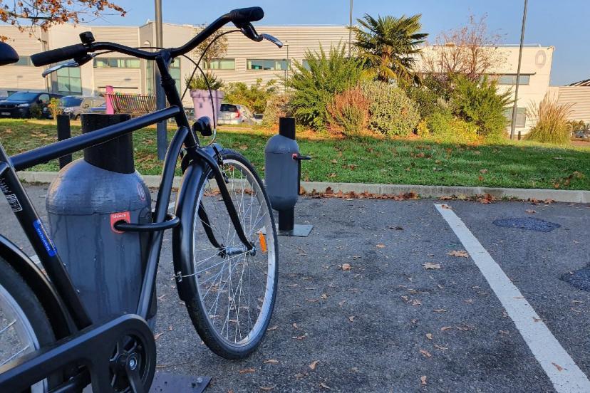Le cadenas de vélo Sharelock