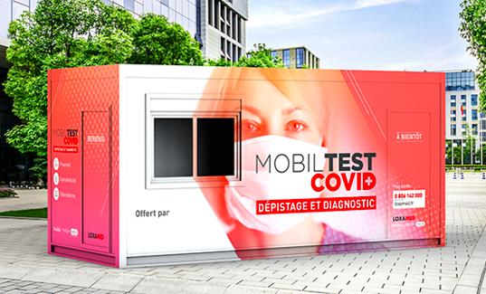 Loxamed et la SNCF proposent des tests COVID dans les gares