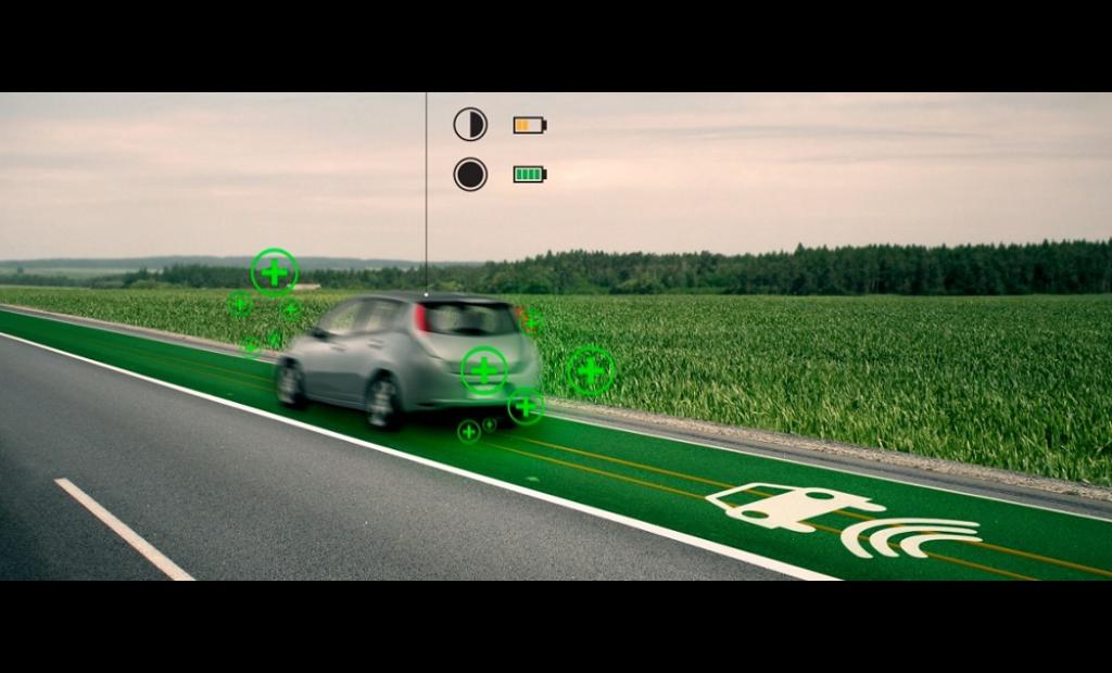 Start-up : Une route capable de recharger les voitures électriques en temps réel