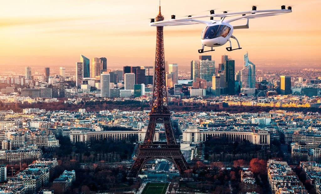 Volocopter : bientôt des taxis volants dans le ciel de Paris ?