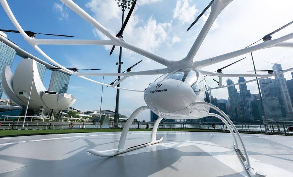 Volocopter, première certification pour réaliser des vols en Europe