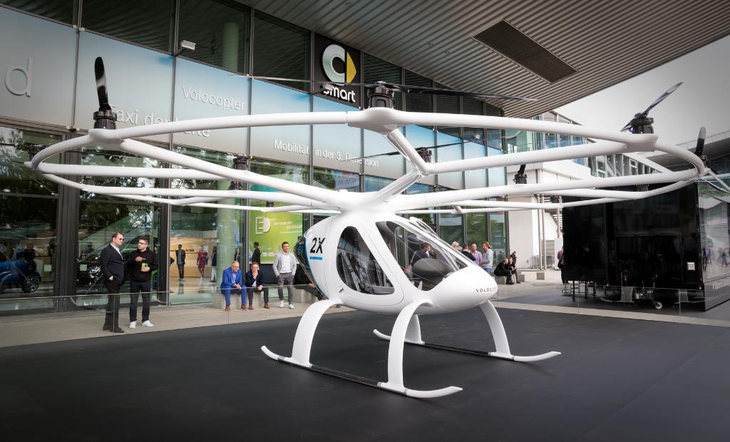 Volocopter : des drones pour transporter les secouristes